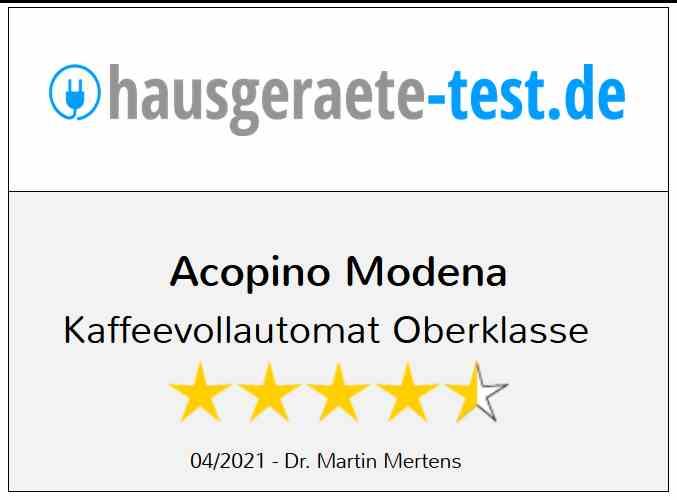Acopino Modena ONE Touch Kaffeevollautomat