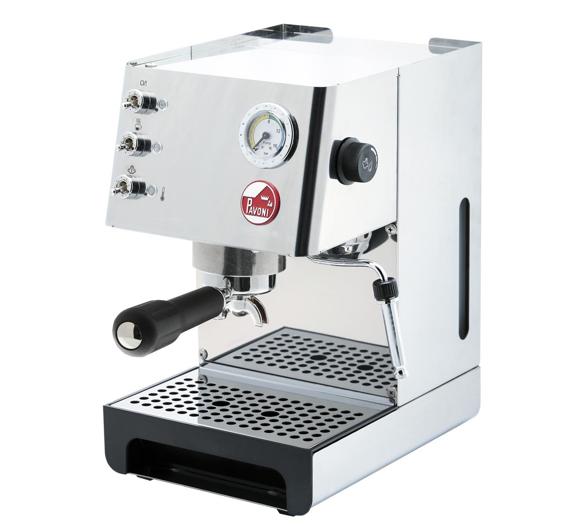 La Pavoni Baretto Steel BRT Siebträger - Espressomaschine