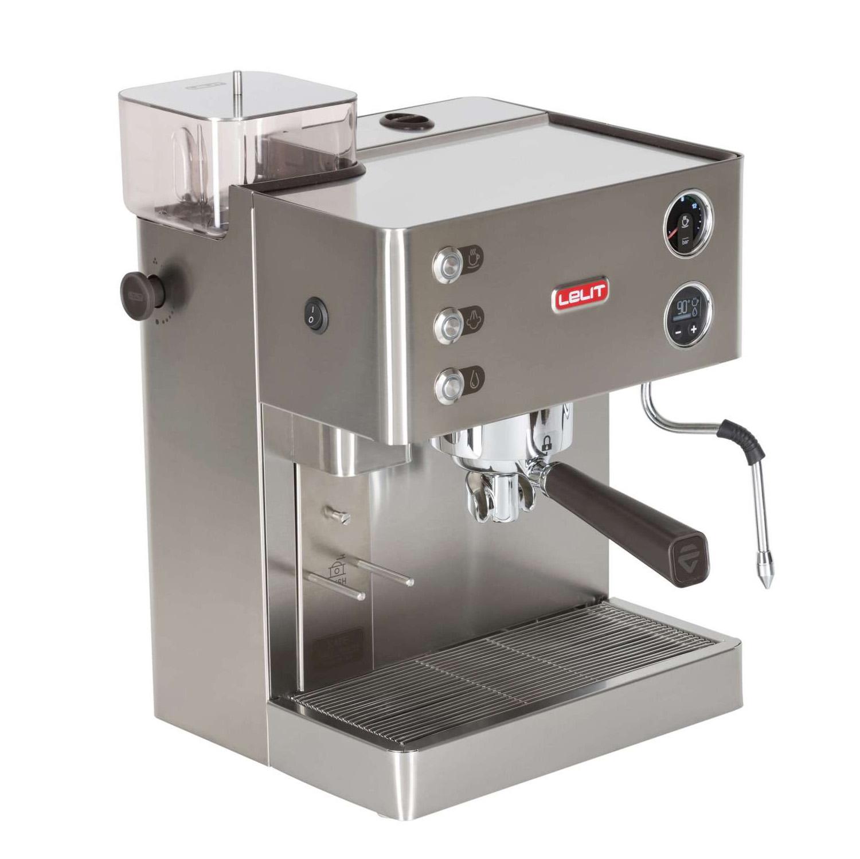 Lelit PL82T Siebträger Espressomaschine mit Kaffeemühle