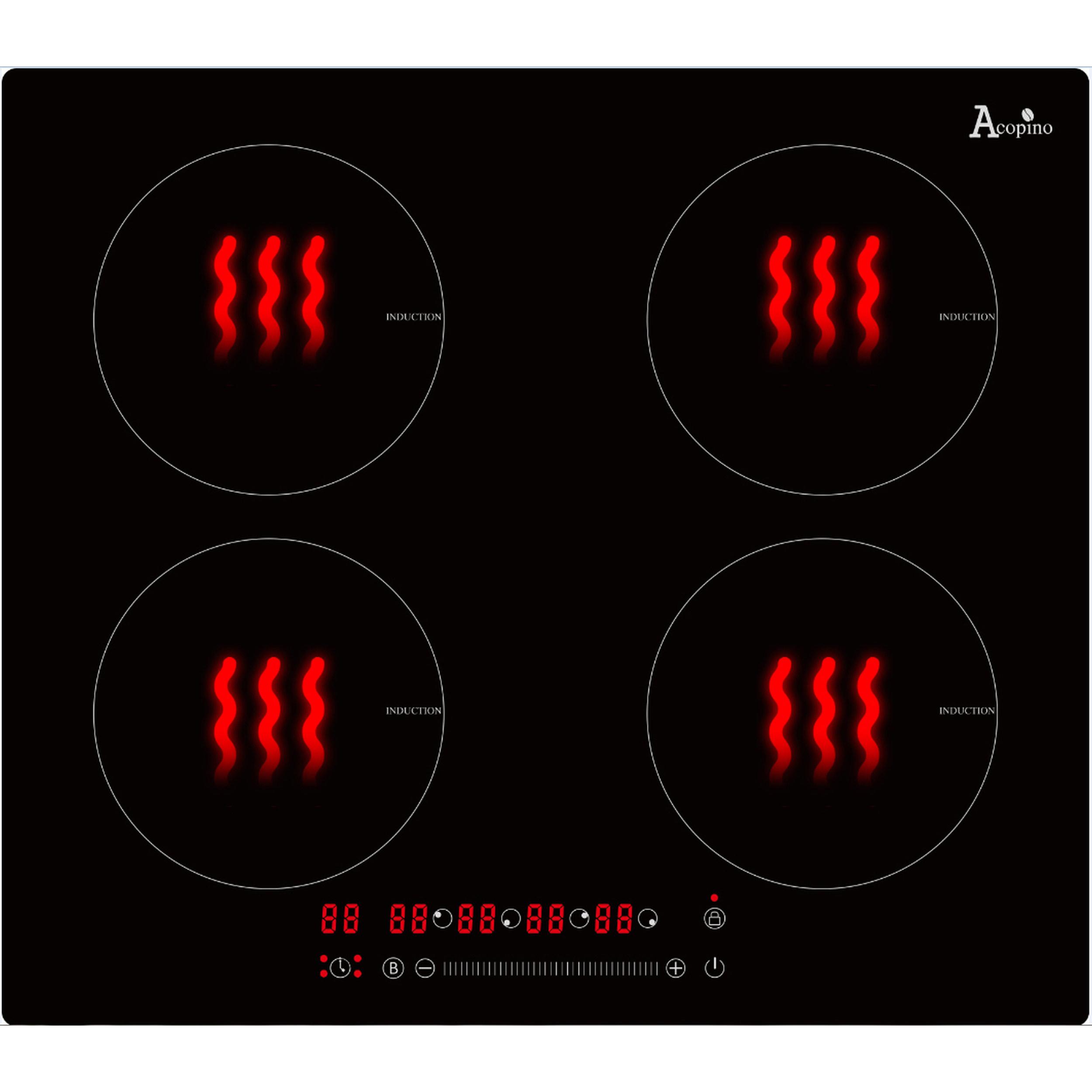 Glaskeramik Kochfeld Induktion KMI4