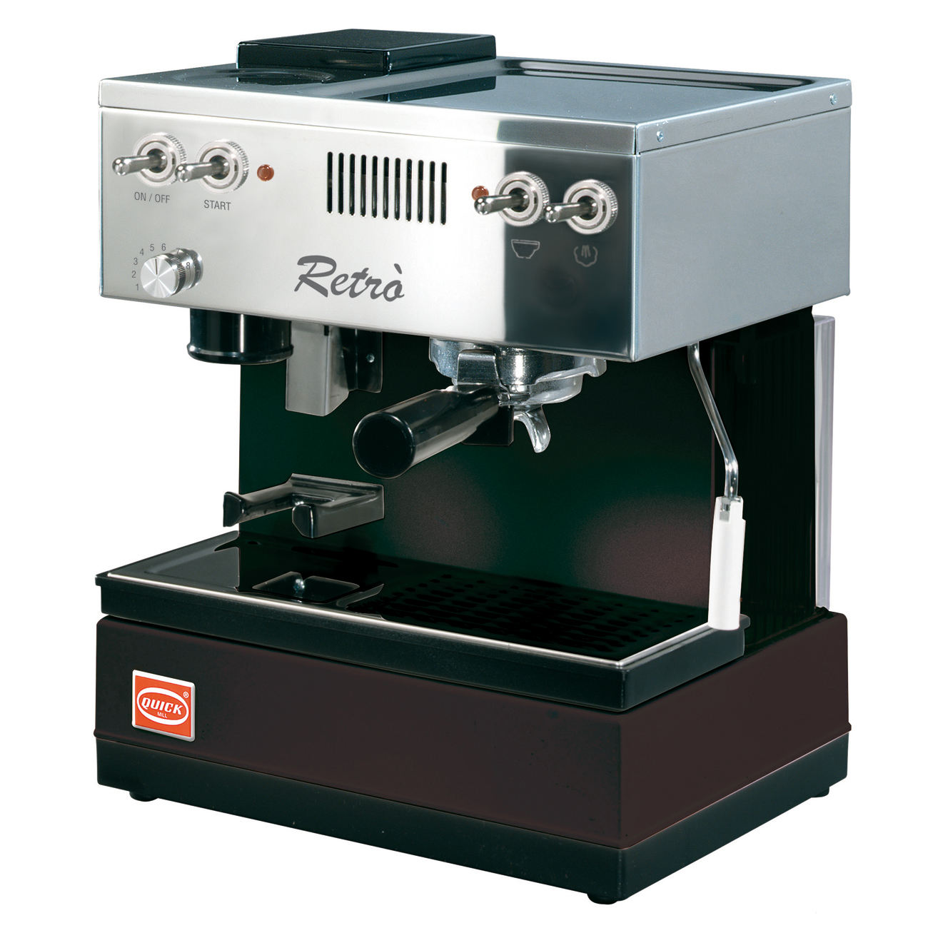 Quickmill Modell 0835 Retro Espressomaschine