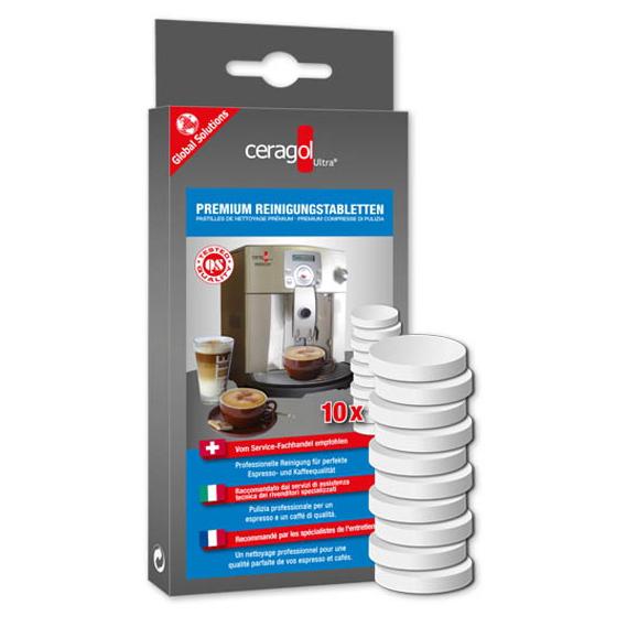 Ceragol Premium Reinigungstabletten (10 Stück Packung)