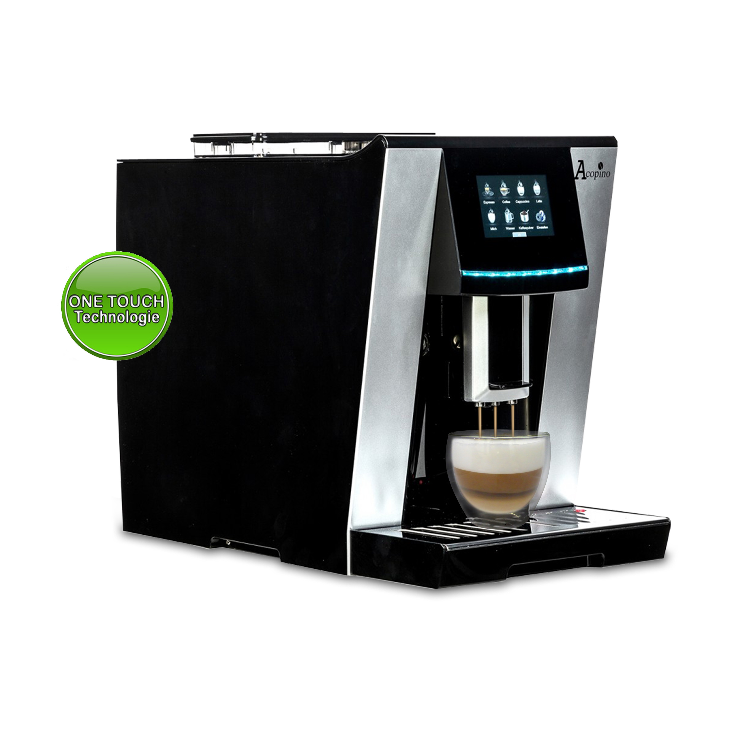 Acopino Vittoria Kaffeevollautomat mit ONE TOUCH